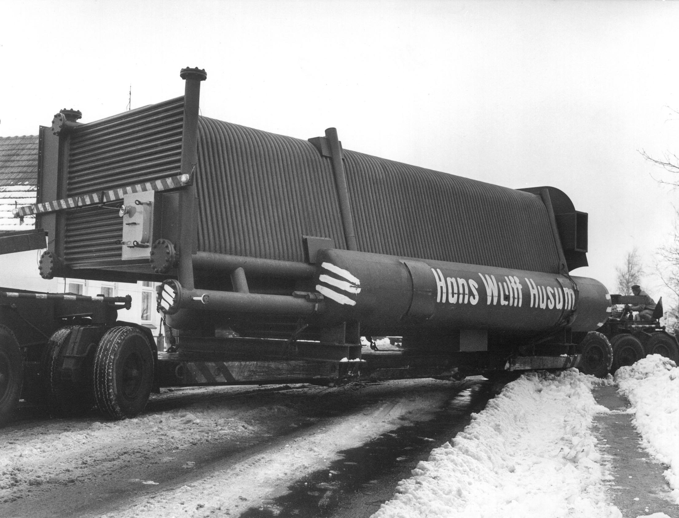 Wulff & Umag Dampfkessel Archiv