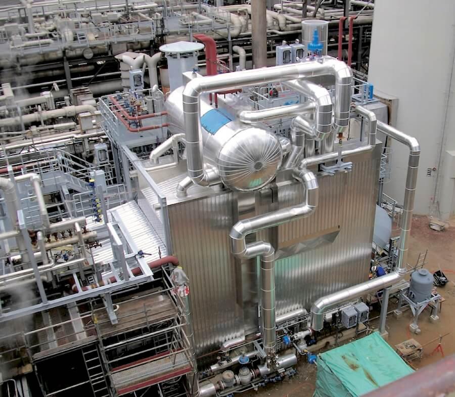 water-tube boiler Wulff & Umag