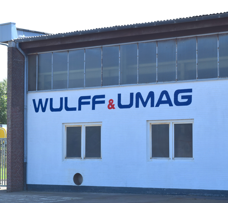 WU Logo Wand